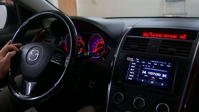 Замена штатной магнитолы Mazda CX-9