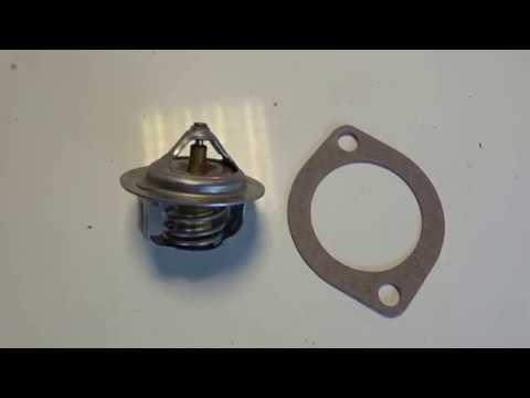 Замена термостата Mazda Demio