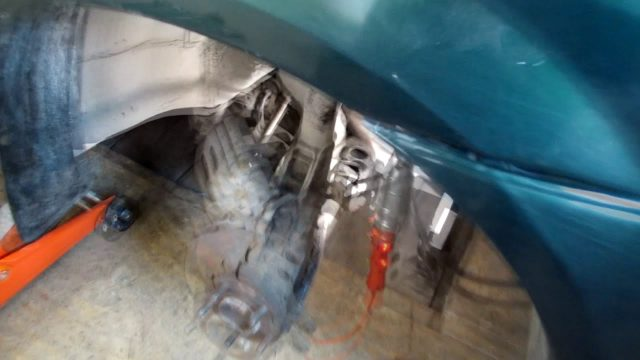 Замена генератора Mazda MPV