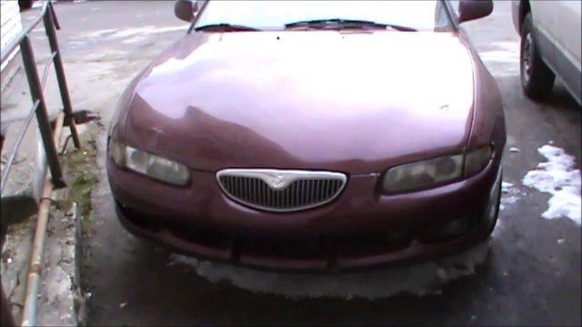 Снятие бензонасоса Mazda Xedos 6