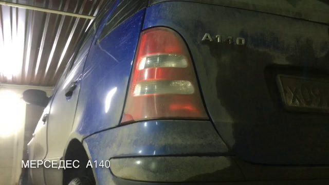 Замена генератора Mercedes A140