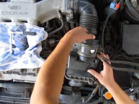 Замена термостата Mazda Xedos 6