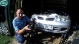 Замена передних амортизаторов Mitsubishi Carisma