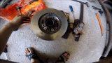 Замена тормозных дисков Mitsubishi Delica
