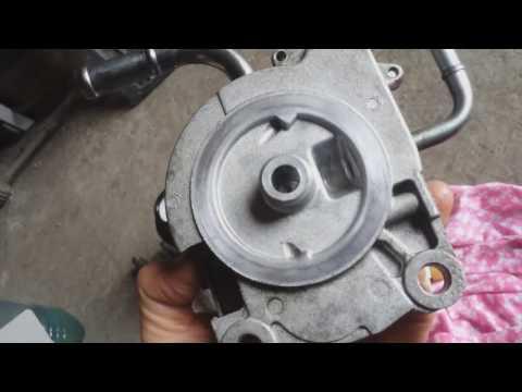 Замена топливного фильтра Mitsubishi L200