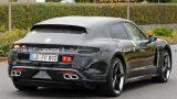 Porsche Taycan в новом кузове заметили на тестах