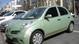 Замена лампы ближнего света Nissan Micra