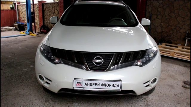 Замена передних дворников Nissan Murano