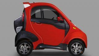 В Россию привезут белорусский электромобиль Sidus A01