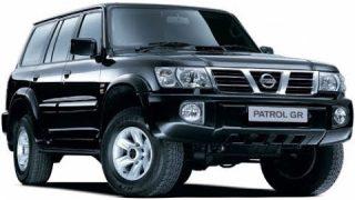 Замена передних тормозных колодок Nissan Patrol GR