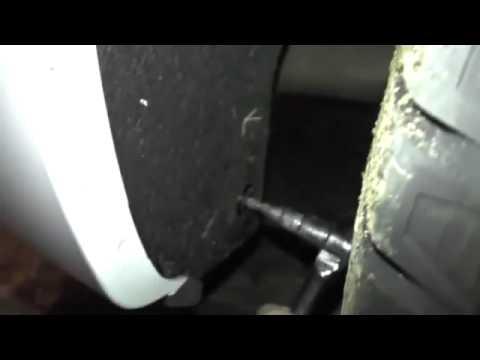 Установка брызговиков Nissan Sentra