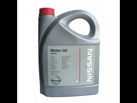 Замена масла в двигателе Nissan Sentra